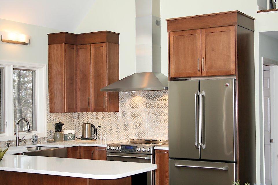 Modern Yet Classic Categorized Under Modern Kitchen Portfolio