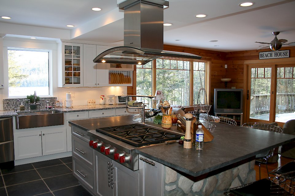 White Open Spaces Categorized Under Modern Kitchen Portfolio