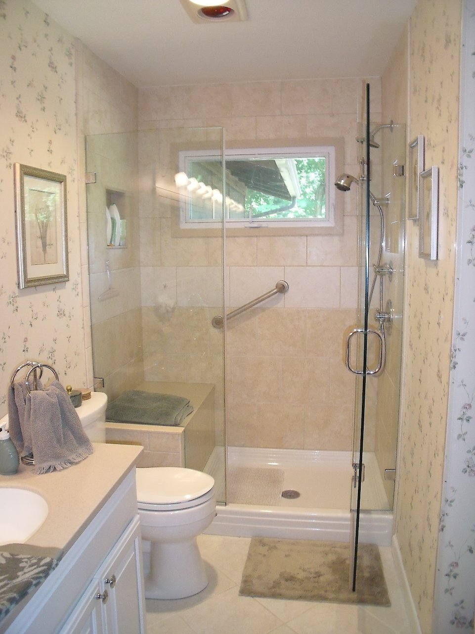 Clear And Classy Categorized Under Transitional Bathroom