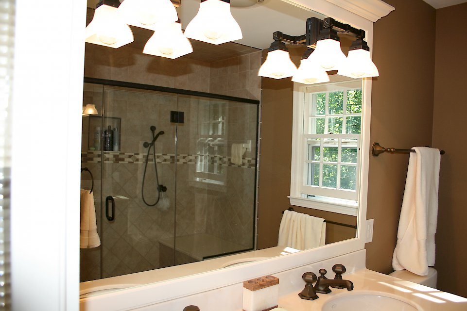 Dual Comfort Categorized Under Transitional Bathroom