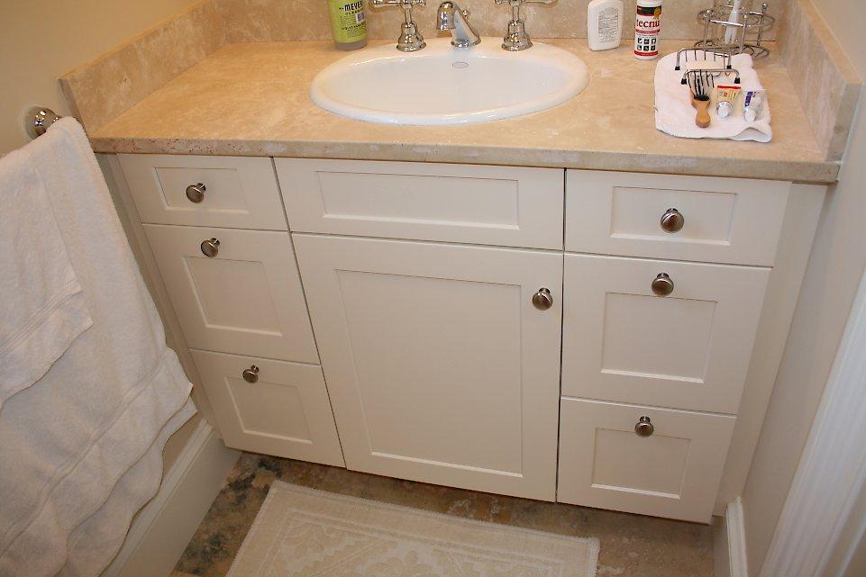 Luscious Limestone Categorized Under Transitional Bathroom Portfolio