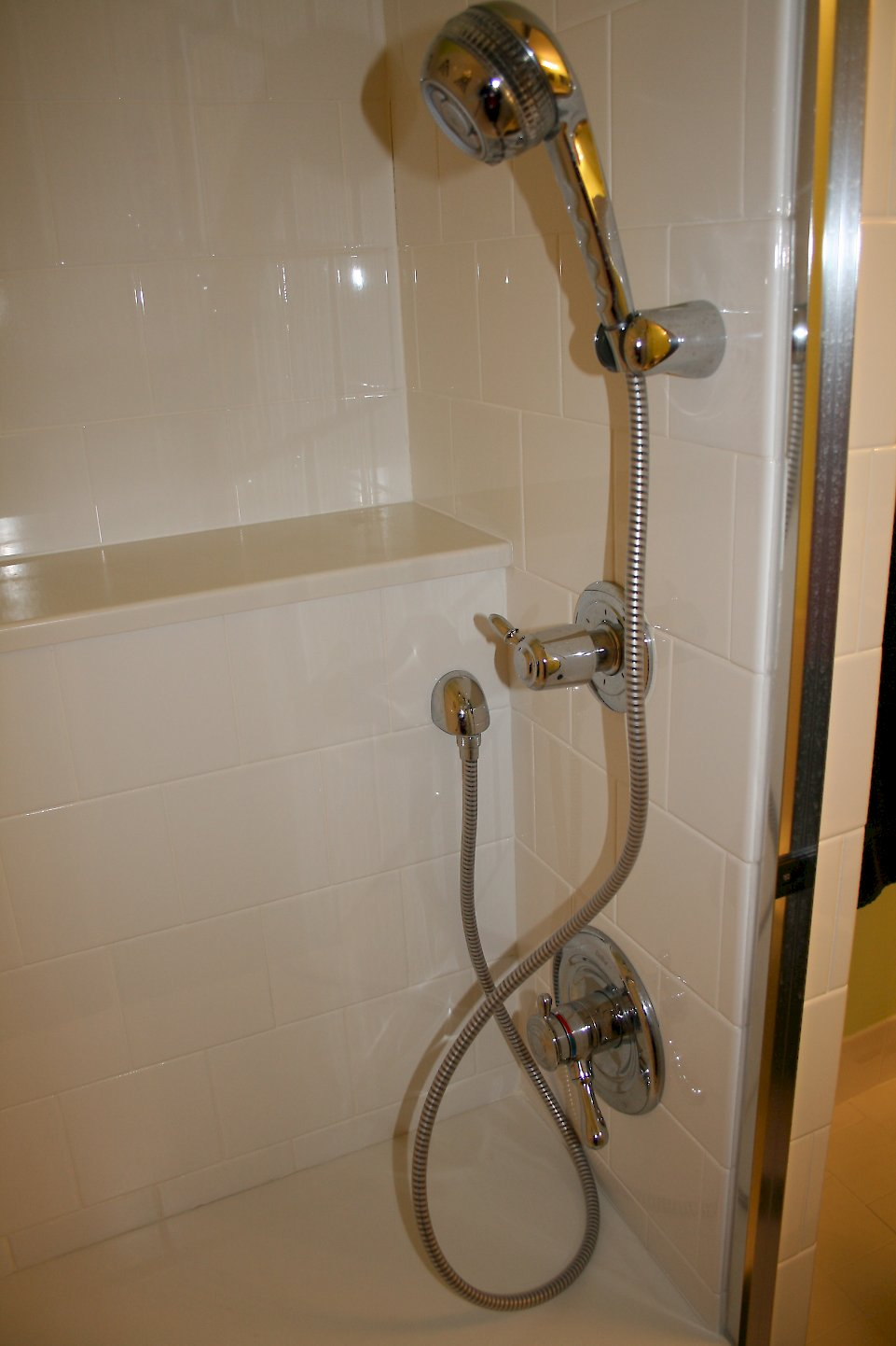 Delta wall hand shower unit.